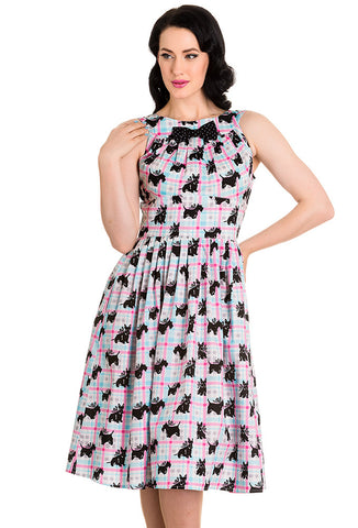 Hell Bunny Scottie Dress