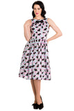Hell Bunny Scottie Dress Front