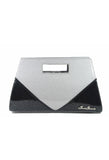 Star Struck Vixen Clutch Black/Silver Front View