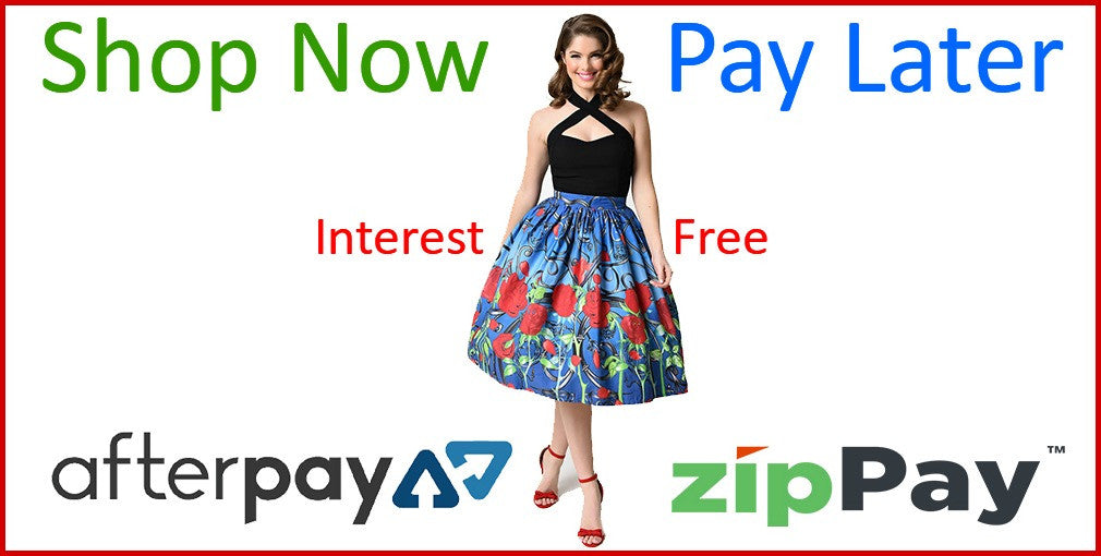 Interest Free Payment Options at Wild Kitty Clothing
