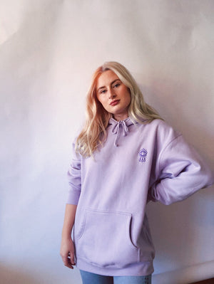Load image into Gallery viewer, Lilac Cholla Hoodie