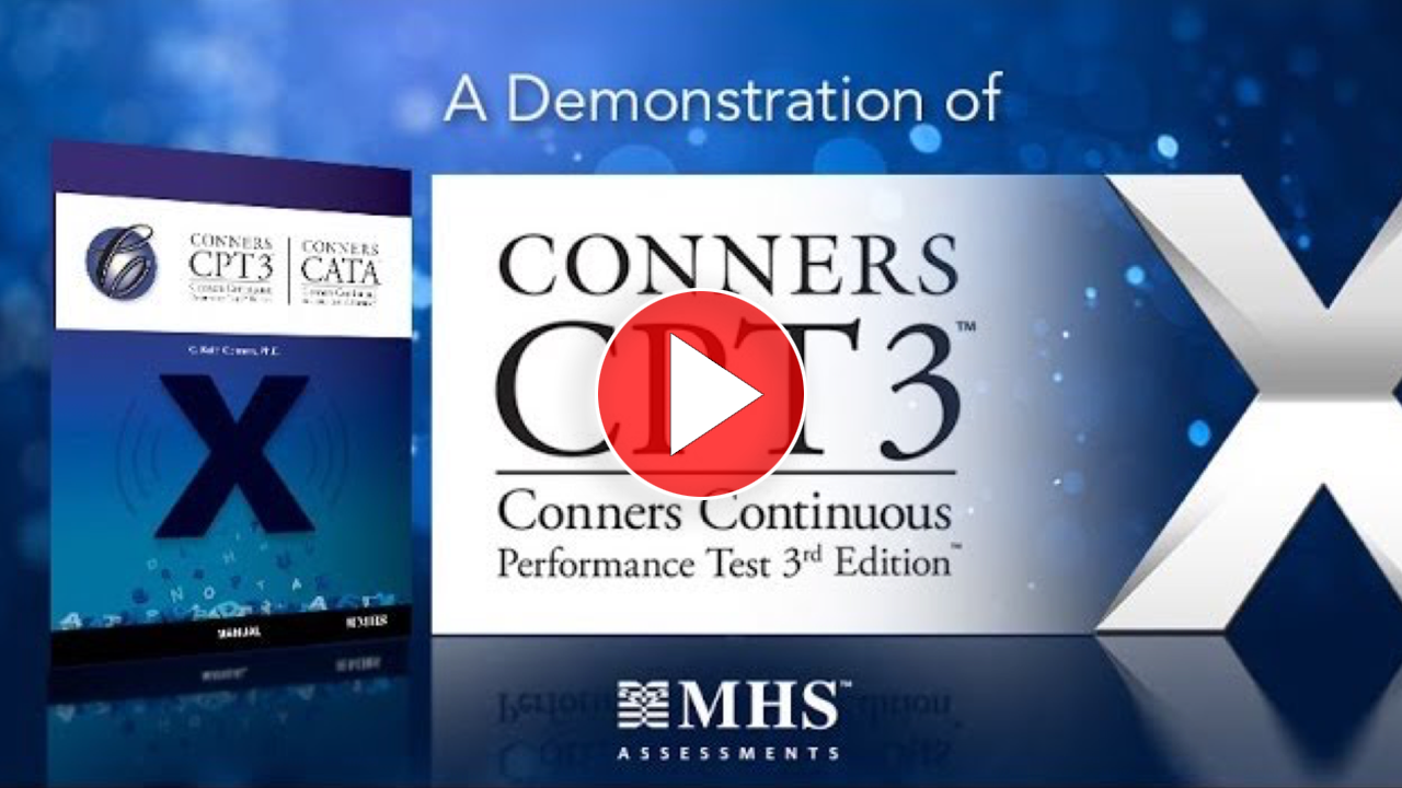 Conners CPT 3 Demonstration