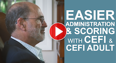 Dr. Jack Naglieri Discusses... Easier Administration & Scoring With CEFI & CEFI Adult