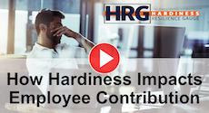 How Hardiness Impacts Employee Contribution