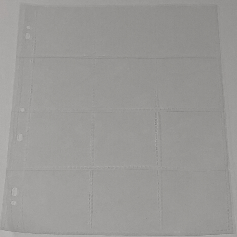 Polypropylene 120 Slide Pages 12 Pocket
