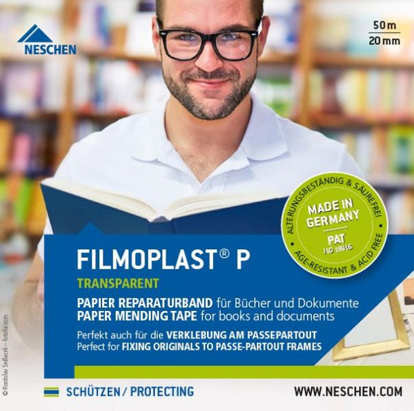 Filmoplast P Document Repair Tape