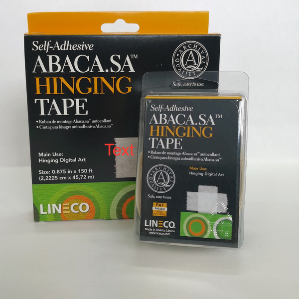 Lineco Abaca Hinging Tape
