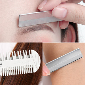 Hair Razor Blades For Thin & Thick Hair Cutting and Styling - Pack of 10