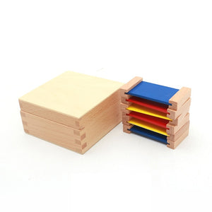 Montessori Sensorial Color Learning Box (Wooden)