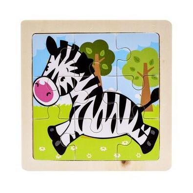 Wooden Puzzles for Toddlers