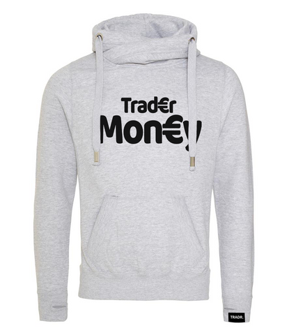 'Trader Money' Mens Tradr. Cross Neck Hoody - Limited Edition