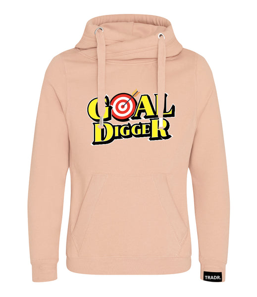 Goal Digger Mens Tradr. Cross Neck Hoody - Limited Edition