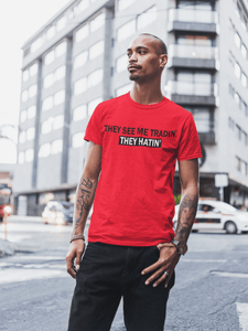'They See Me Tradin' They Hatin'' Mens Tradr. T-Shirt - T-Shirts - TRADR. Clothing