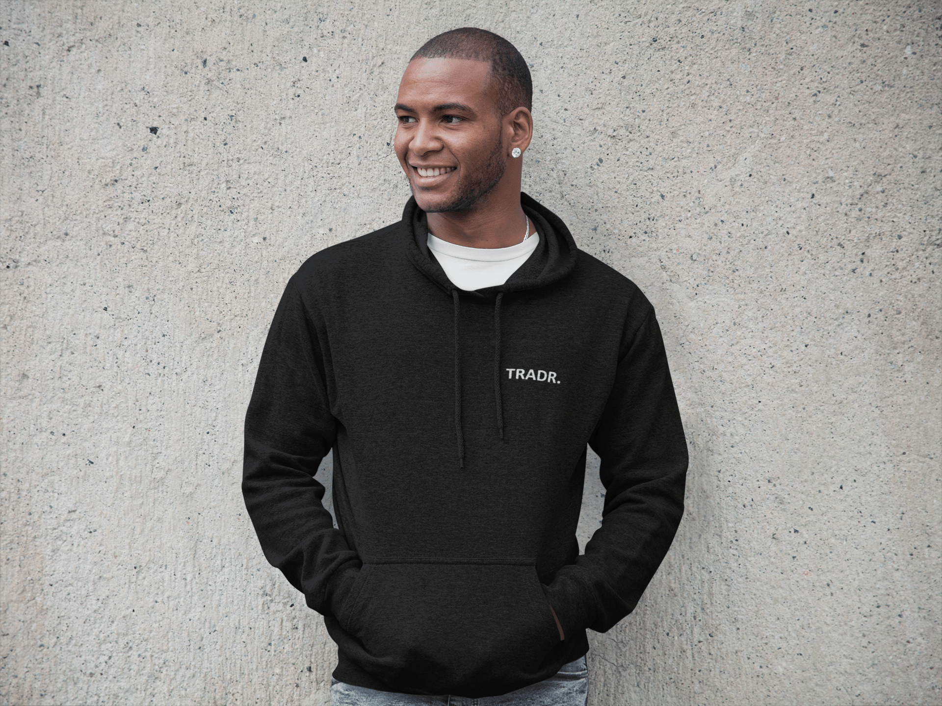 TRADR. Brand (Chest) Mens Tradr. Hoody - Hoody's - TRADR. Clothing