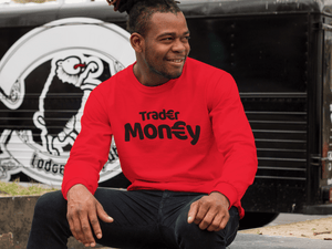 'Trader Money' Mens Tradr. Sweatshirt - Sweatshirts - TRADR. Clothing