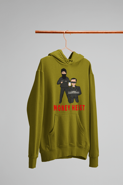 'Money Heist' Mens Tradr. Hoody - Hoody's - TRADR. Clothing