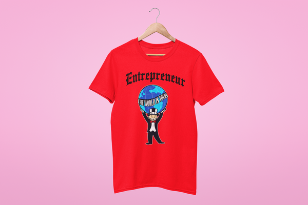 'Entrepreneur - The World is Yours' Womens Tradr. T-Shirt