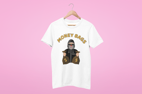 'Money Bags' Womens Tradr. T-Shirt - T-Shirts - TRADR. Clothing