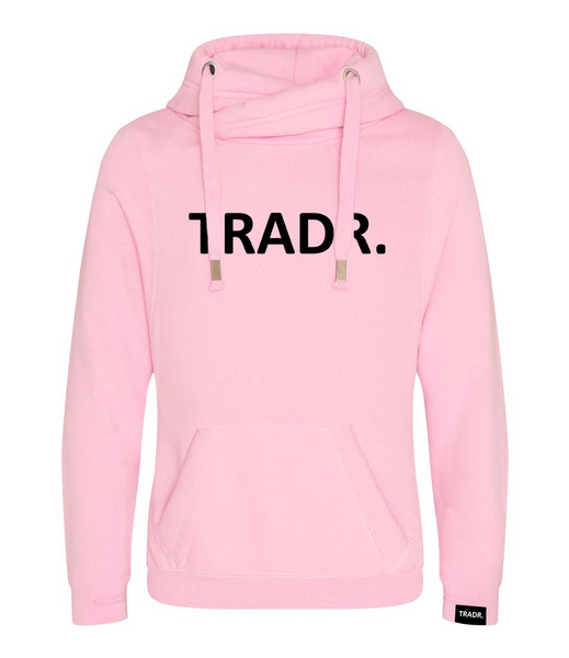 TRADR. Brand Mens Tradr. Cross Neck Hoody - Limited Edition