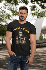 'Money Bags' Mens Tradr. T-Shirt - T-Shirts - TRADR. Clothing