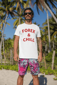 'Forex & Chill' Mens Tradr. T-Shirt - T-Shirts - TRADR. Clothing