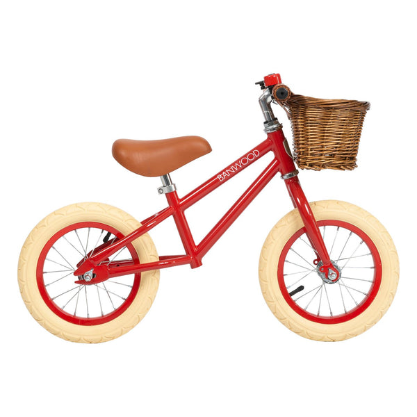 Banwood First Go Red: loopfiets