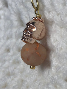 Opaque Rose Gold with Skull