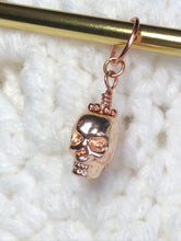 Load image into Gallery viewer, Skull - Rose Gold
