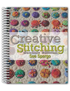 Creative Stitching, 2nd edition by Sue Spargo - Amanda Baxter Studio Tencel Yarn