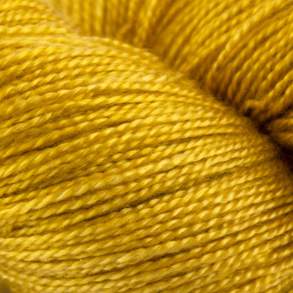 Bright Gold 4 oz. skein - Amanda Baxter Studio Tencel Yarn
