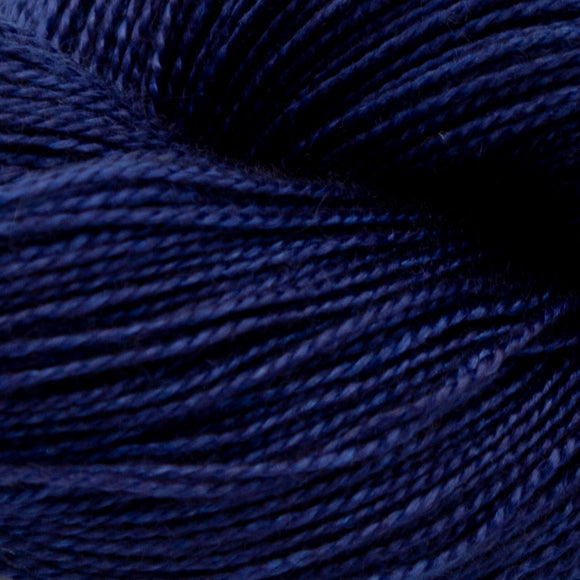Indigo Dyed Yarn - DARK - Amanda Baxter Studio Tencel Yarn