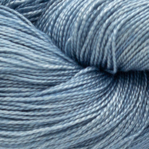 Indigo Dyed Yarn - LIGHT - Amanda Baxter Studio Tencel Yarn