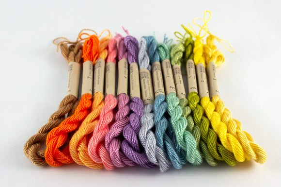Pastel Palette Embroidery Thread - Amanda Baxter Studio Tencel Yarn