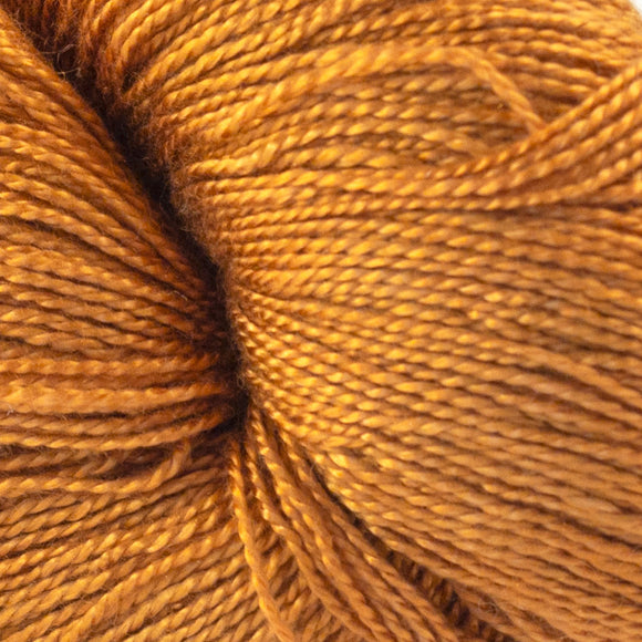 Pumpkin Pie 4 oz. skein - Amanda Baxter Studio Tencel Yarn