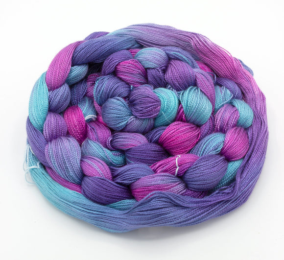 Unicorn Hand-Painted Warp - Amanda Baxter Studio Tencel Yarn