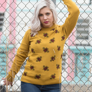 Bees Knees Jumper by Run and Fly