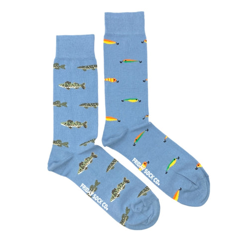 Fish and Lures by Friday Sock Co.