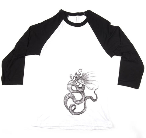 Mermaid Unisex Baseball Tee