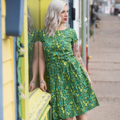 Blooming Cacti Dress by Run and Fly