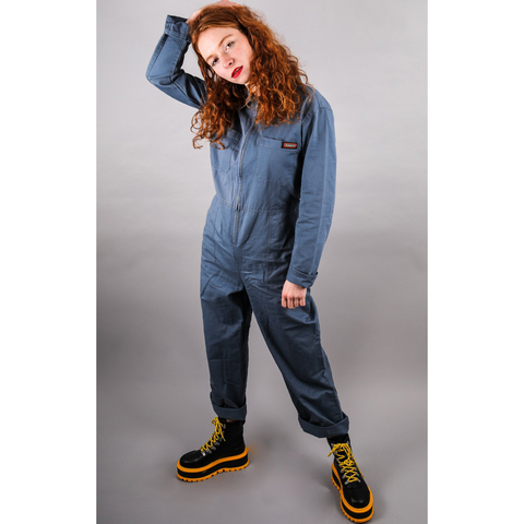 Cobalt Boiler Suit by Run and Fly