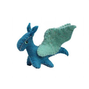 Sea Dragon Felt Ornament