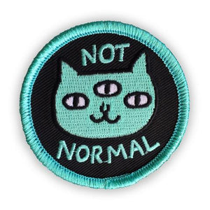 Not Normal Patch by Badge Bomb