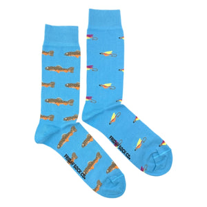 Trout and Fly by Friday Sock Co.