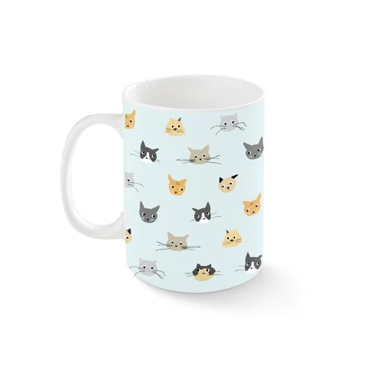 Cat Heads Kansas Mug by Fringe Studio