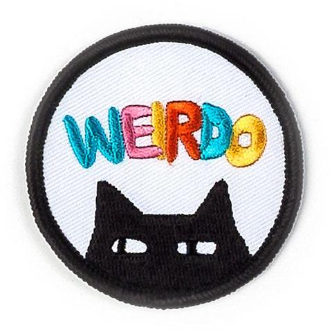 Weirdo Patch by Badge Bomb