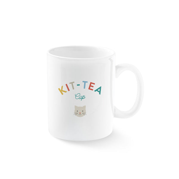 Kit-Tea Mug by Fringe Studio