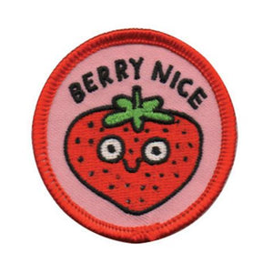 Berry Nice Patch by Badge Bomb