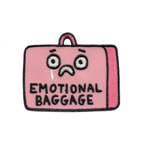 Emotional Baggage Patch by Badge Bomb
