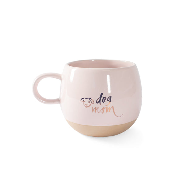Dog Mom Round Mug by Fringe Studio