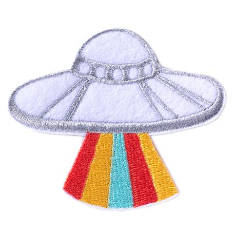 UFO Space Ship Patch by Badge Bomb